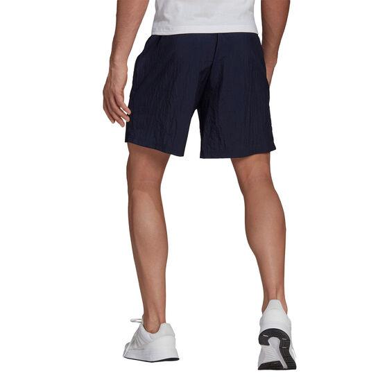 adidas Mens Gradient Logo Tee, Navy, rebel_hi-res