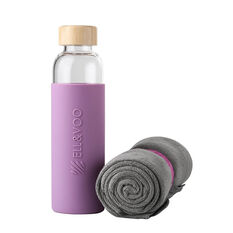 Ell & Voo Microfibre Towel and Bottle Gift Pack, , rebel_hi-res