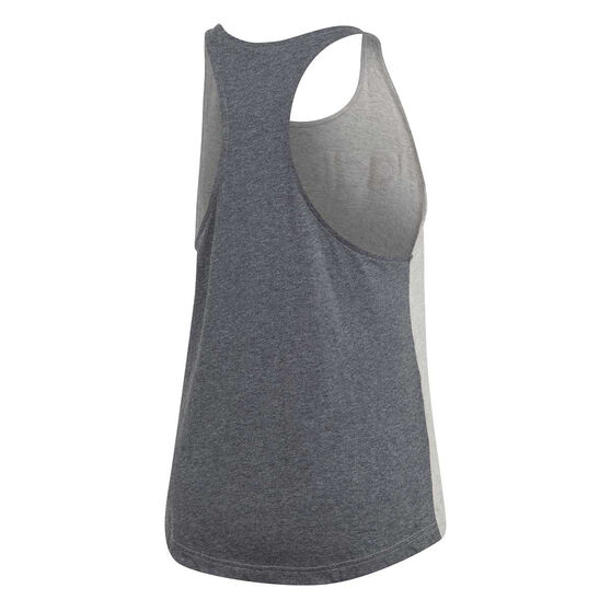 adidas Womens Essentials Linear Tank Grey XS, Grey, rebel_hi-res