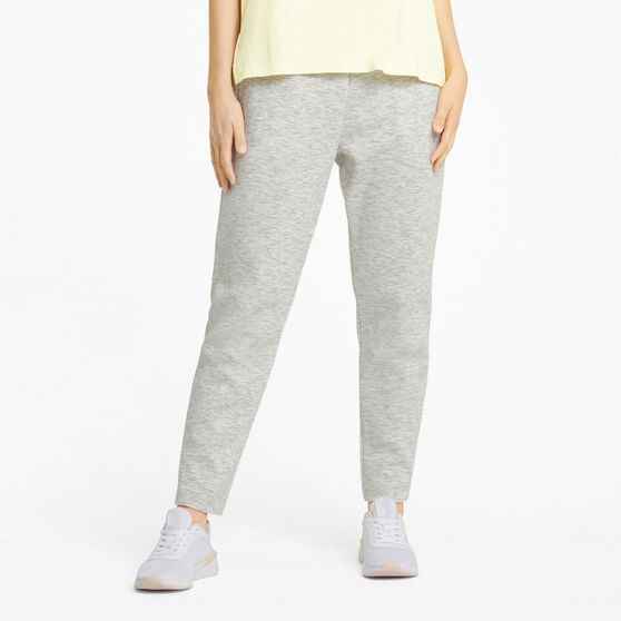 Puma Womens Evostrip Pants, White, rebel_hi-res