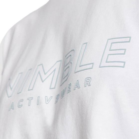 Nimble Womens Best Friend Long Sleeve Tee, White, rebel_hi-res