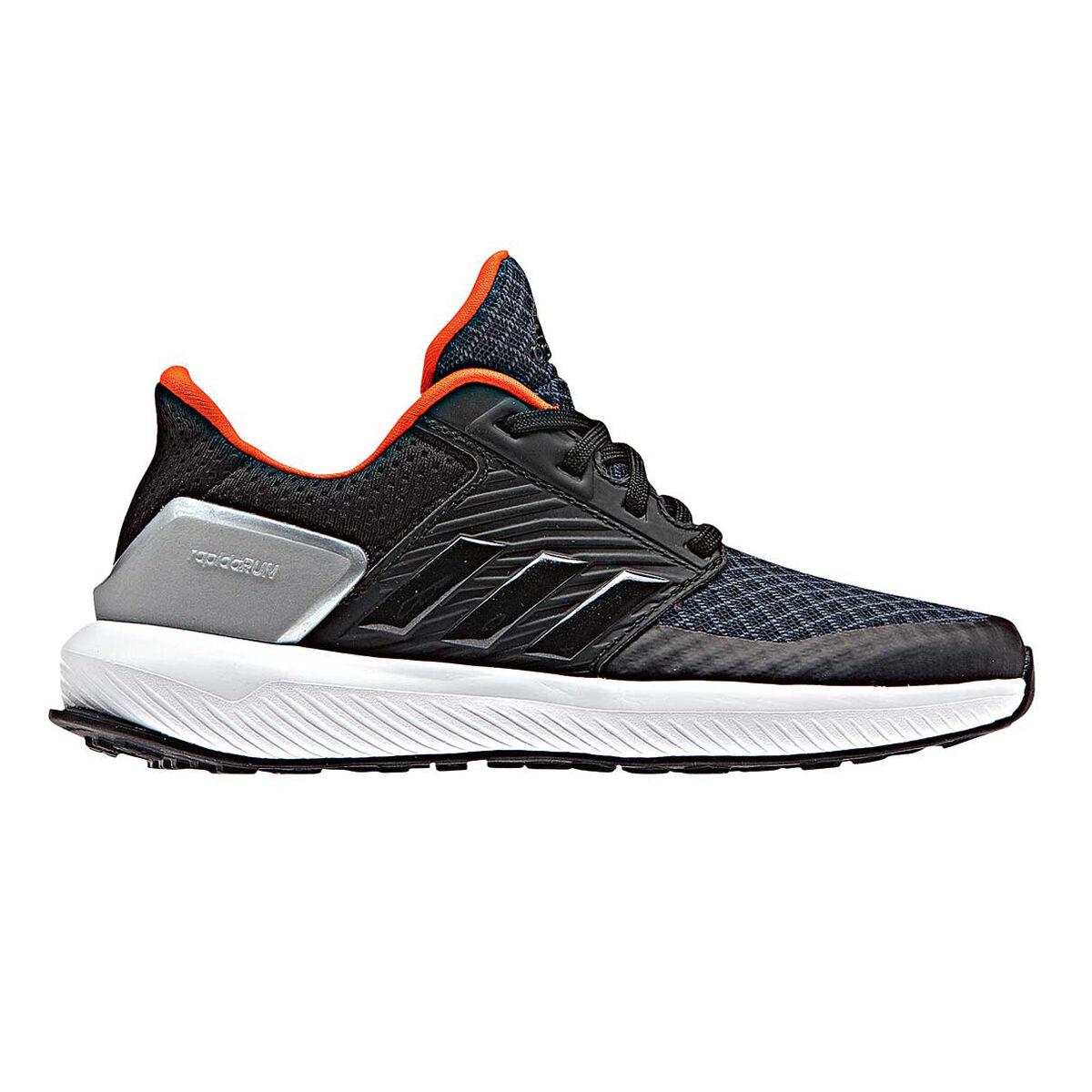Running adidas shoes black photo