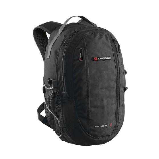 Caribee Hot Shot Backpack Black, , rebel_hi-res