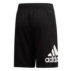 adidas Boys Equip Knit Shorts Black / White 6, Black / White, rebel_hi-res