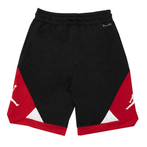 Nike Boys Dri-FIT Colourblock Shorts, Red, rebel_hi-res