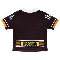 Brisbane Broncos 2021 Infants Home Jersey Maroon 00, Maroon, rebel_hi-res