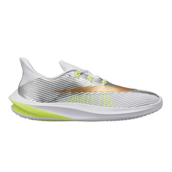 factory price 2dcef a08b7 Nike Future Speed Kids Running Shoes, White   Gold, rebel hi-res
