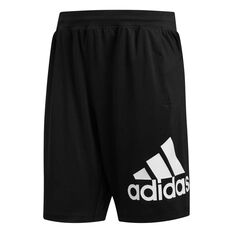 adidas Mens 4KRFT Badge of Sport 9in Shorts, Black, rebel_hi-res