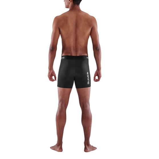 SKINS Mens Series 1 Compression Shorts, Black, rebel_hi-res