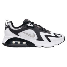 Nike Air Max 200 Mens Casual Shoes White/Grey US 6, White/Grey, rebel_hi-res