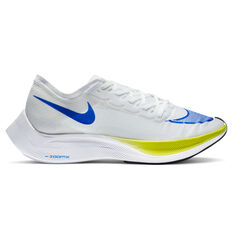 Nike Air ZoomX Vaporfly Next% Mens Running Shoes White/Blue US 7, White/Blue, rebel_hi-res
