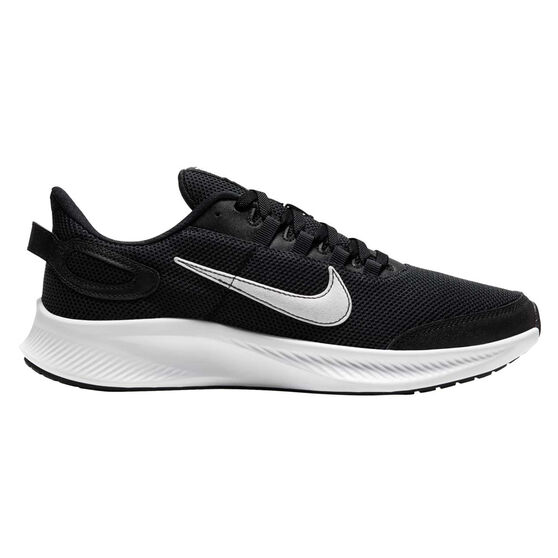 Nike Run All Day 2 Womens Running Shoes, Black / White, rebel_hi-res