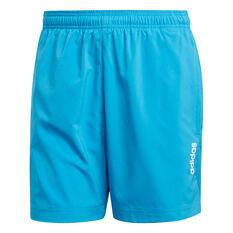adidas Mens Essentials Plain Chelsea Shorts, Green / Blue, rebel_hi-res