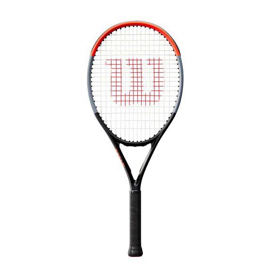 Wilson Clash 26 Tennis Racquet Grey / Red 26 in, Grey / Red, rebel_hi-res