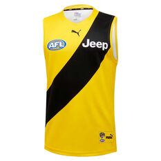 Richmond Tigers 2020 Kids Away Guernsey Yellow 8, Yellow, rebel_hi-res