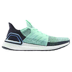 adidas Ultraboost 19 Mens Running Shoes Green / Grey US 7, Green / Grey, rebel_hi-res