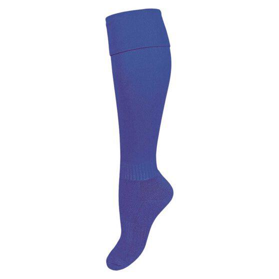 Burley Kids Football Socks, Royal, rebel_hi-res