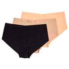 Under Armour Womens Pure Stretch Hipster Briefs 3 Pack, , rebel_hi-res