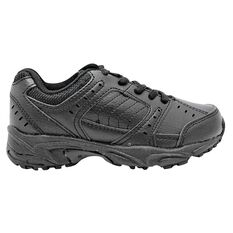 Sfida Dominator Lace Junior Cross Training Shoes Black US 11, Black, rebel_hi-res