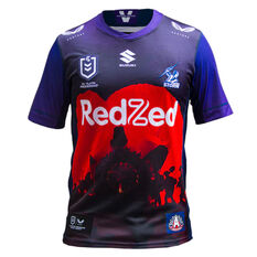 Melbourne Storm 2021 Kids ANZAC Jersey Purple S, Purple, rebel_hi-res