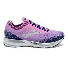 Brooks Levitate 2 Womens Running Shoes Purple / Lilac US 7, Purple / Lilac, rebel_hi-res