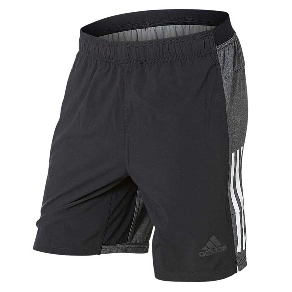 pick up 9b74a 54991 adidas Mens Climacool Speed Training Shorts Black   Grey M Adult, Black    Grey,