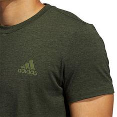 adidas Mens Studio Tech Tee, Green, rebel_hi-res