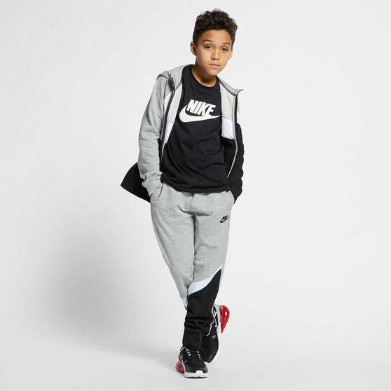Nike Boys Sportswear Futura Tee Black / White XS, Black / White, rebel_hi-res