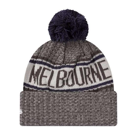 Melbourne Demons New Era 6 Dart Cuff Beanie, , rebel_hi-res
