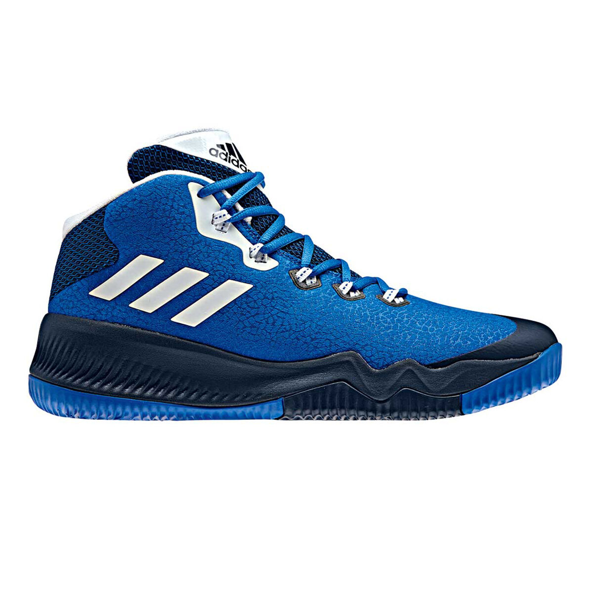 innovative design 5c653 b7f98 ... top quality adidas crazy hustle mens basketball shoes blue navy us 9  blue navy 974e9 0e99c