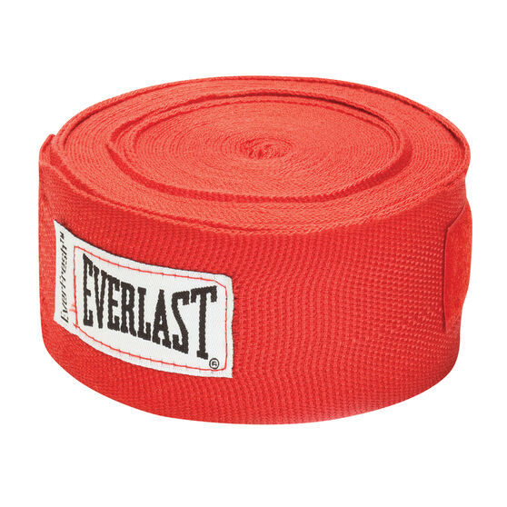 Everlast 180in Hand Wraps Red 180in, Red, rebel_hi-res