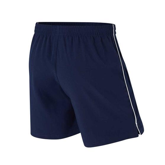 Geelong Cats Mens Core Training Shorts, Blue, rebel_hi-res
