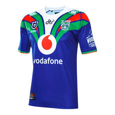 Warriors 2019 Mens Home Jersey Blue S, Blue, rebel_hi-res