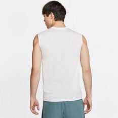 Nike Mens Dry Legend 2.0 Training Tank, White, rebel_hi-res