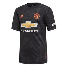 Manchester United 2019/20 Mens 3rd Jersey Black S, Black, rebel_hi-res