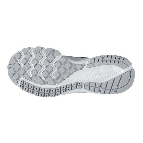 Nike Downshifter 6 Boys Running Shoes, White, rebel_hi-res