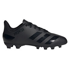 adidas Predator 20.4 Kids Football Boots Black US 11, Black, rebel_hi-res