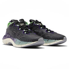 Reebok Zig Kinetica II Womens Casual Shoes Black/Mint US 6, Black/Mint, rebel_hi-res