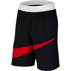 Nike Mens Dri-FIT HBR 2 Shorts Black / Red XS, Black / Red, rebel_hi-res