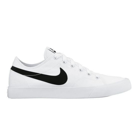 06d612106ee Nike Primo Court Canvas Womens Casual Shoes White   Black US 8 ...