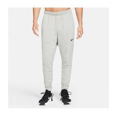 Nike Mens Dri-FIT Tapered Training Pants Grey S, Grey, rebel_hi-res