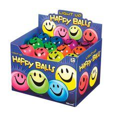 Flashing Light Up Happy Ball, , rebel_hi-res