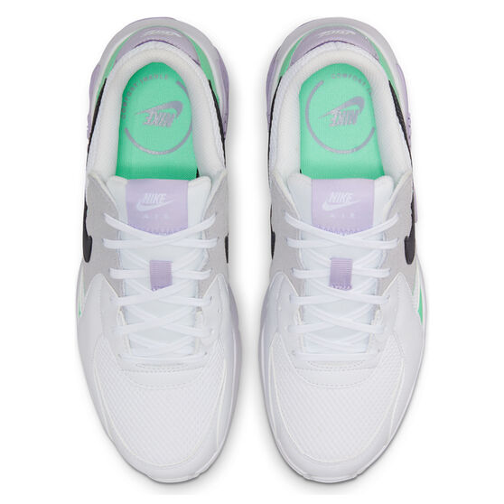 Nike Air Max Excee Womens Casual Shoes, White/Grey, rebel_hi-res