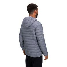 Macpac Mens Uber Light Hooded V2 Jacket, Grey, rebel_hi-res