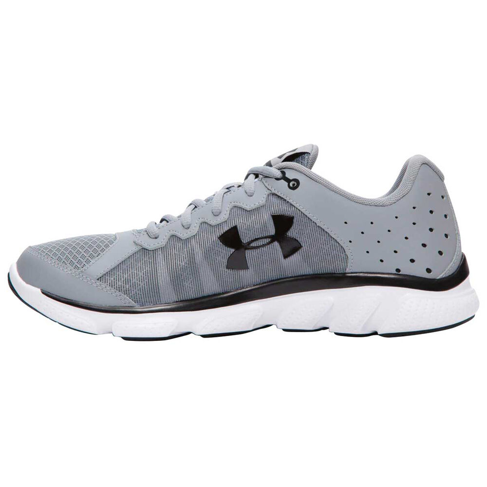 44173a63a62 Under Armour Micro G Assert 6 Mens Running Shoes Grey   White US 10 ...