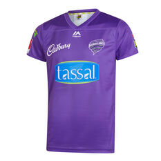 Hobart Hurricanes 2019/20 Mens BBL Jersey Purple S, Purple, rebel_hi-res