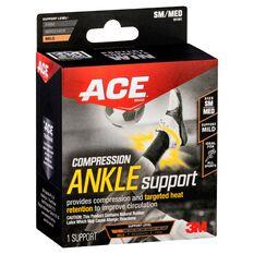 ACE Compression Ankle Support Black S / M, Black, rebel_hi-res