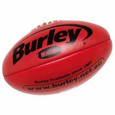 Burley AFL Match Australian Rules Ball Red 3, Red, rebel_hi-res