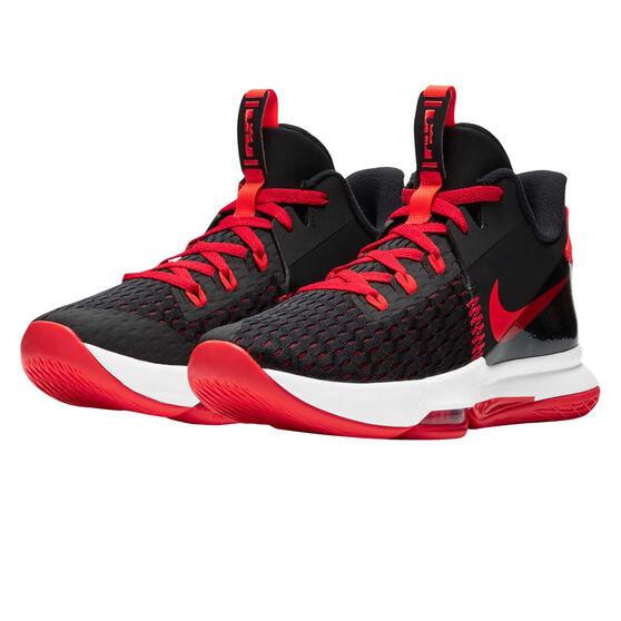 Nike LeBron Witness V Mens Basketball Shoes, Black, rebel_hi-res