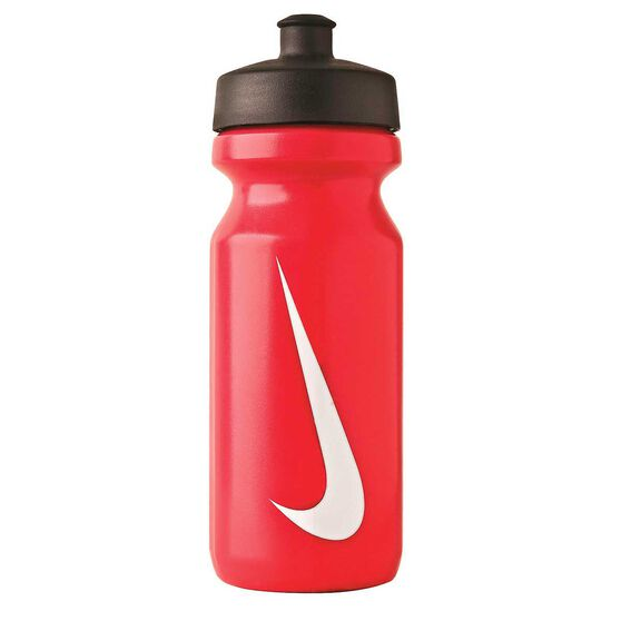 Nike Big Mouth Water Bottle Red / White 650ml, Red / White, rebel_hi-res